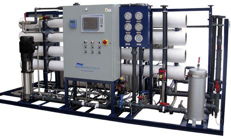 Production of RO desalination plant