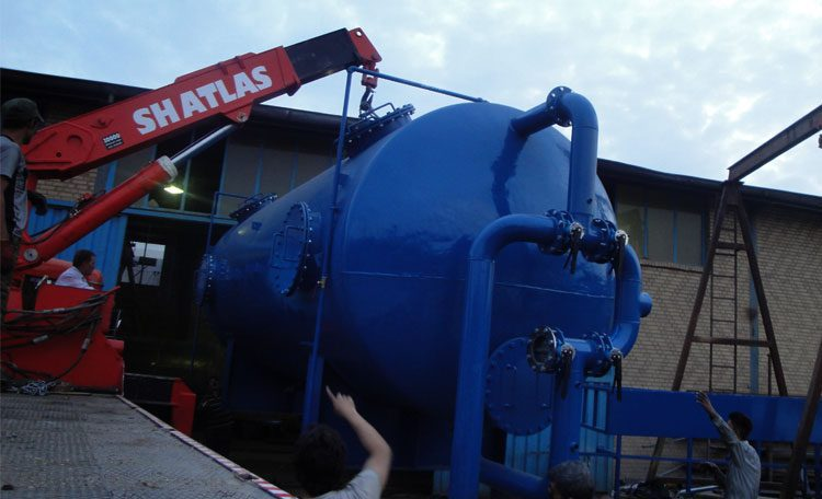 Design and manufacture of sand filter