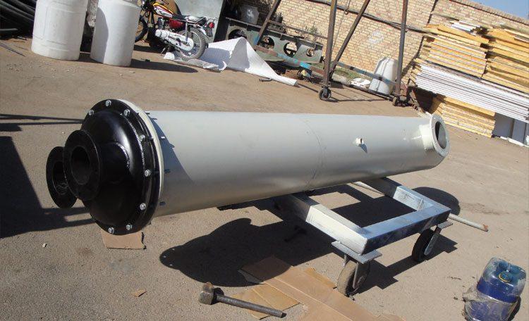 مبدل حرارتی shell and tube