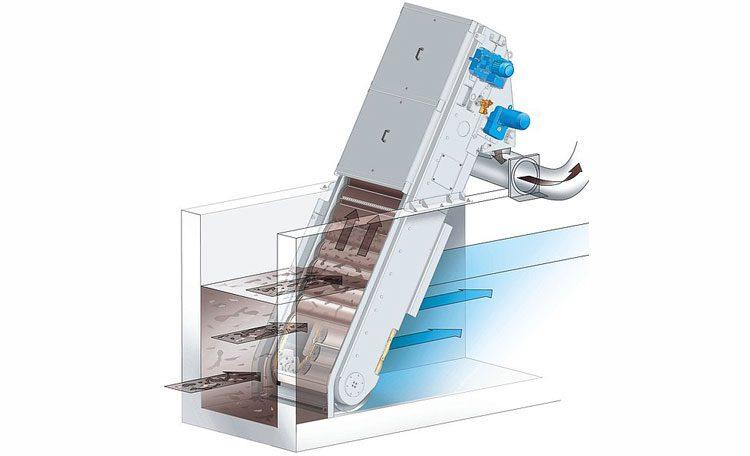 طراحی آشغالگیر مکانیکی