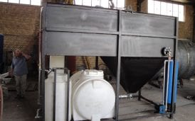 Industrial wastewater treatment package
