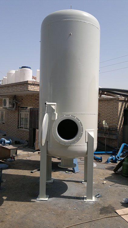 تولید مخازن تحت فشار هوا