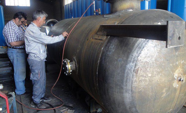 ساخت منبع تحت فشار هوا
