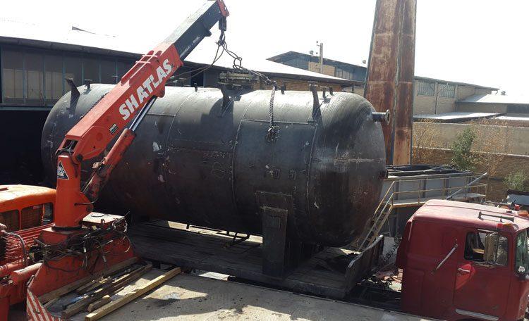 طراحی مخزن ذخیره اسید فلزی