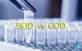 فرق بین BOD و COD فاضلاب