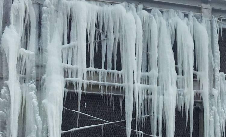 نگهداری از برج خنک کننده در زمستان