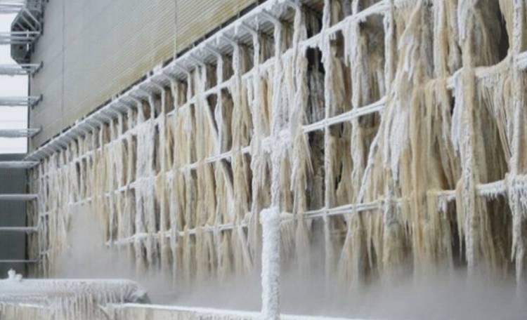 جلوگیری از یخ زدن برج خنک کننده در زمستان